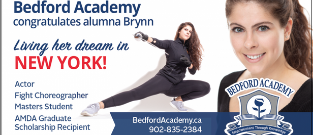 Bedford Academy Billboard
