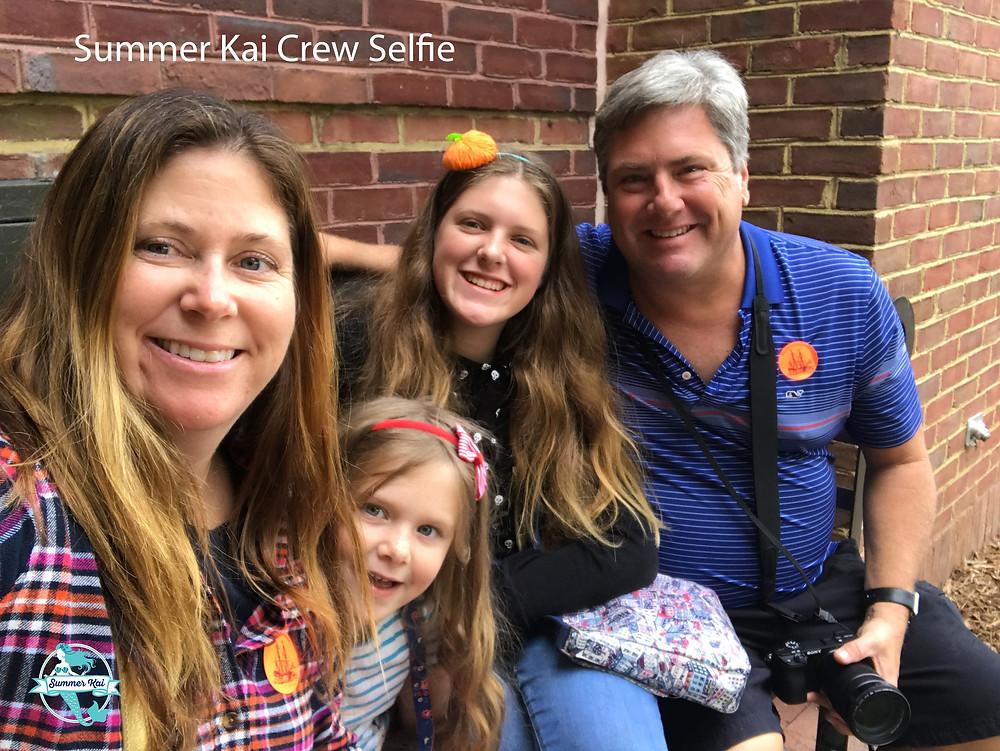 Crew Selfie at the Jamestown Settlement