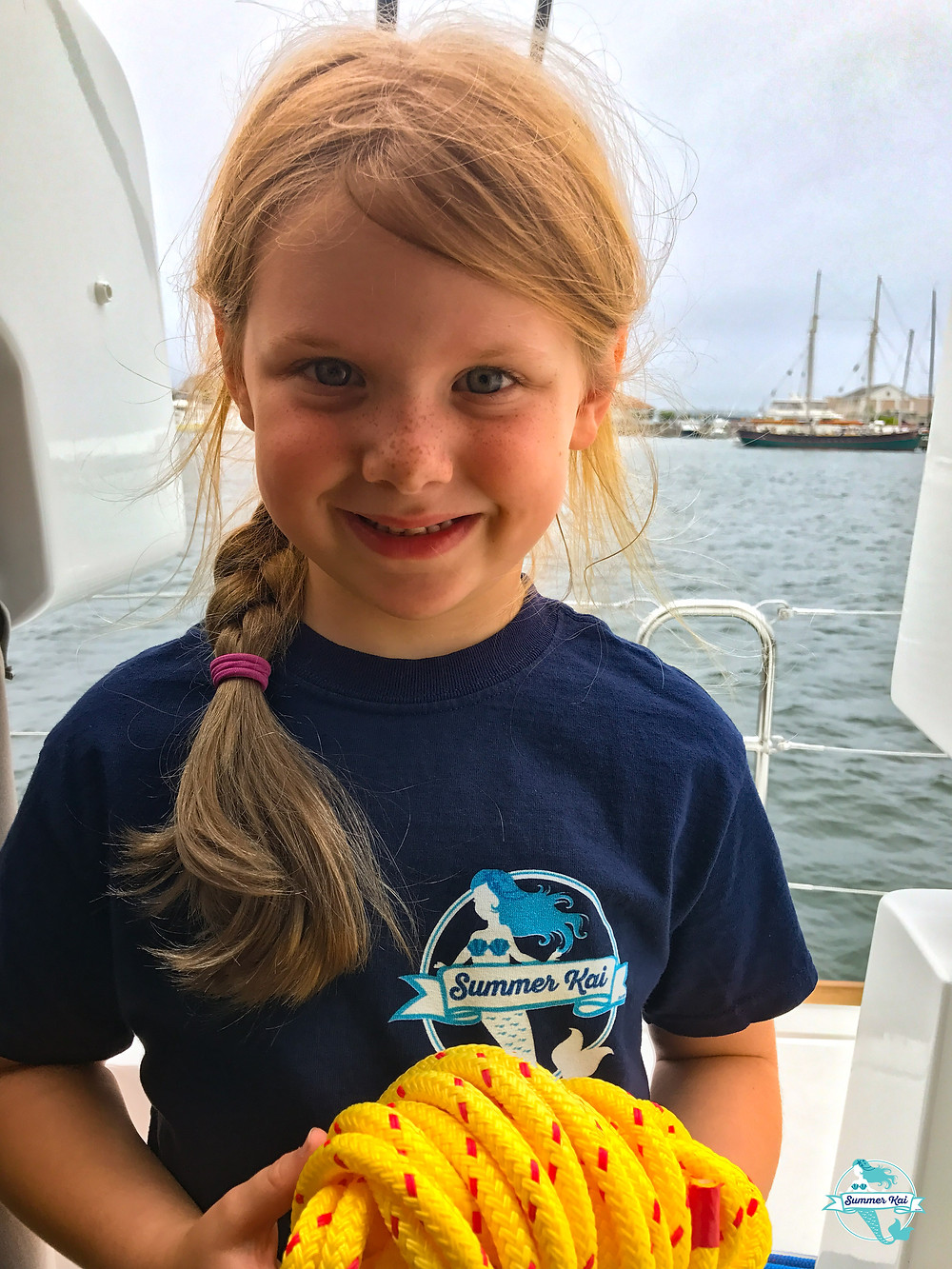 Little Helper on the Boat