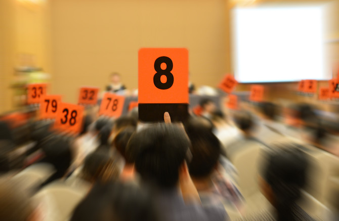 How to avoid getting emotional and bidding above your budget at auction