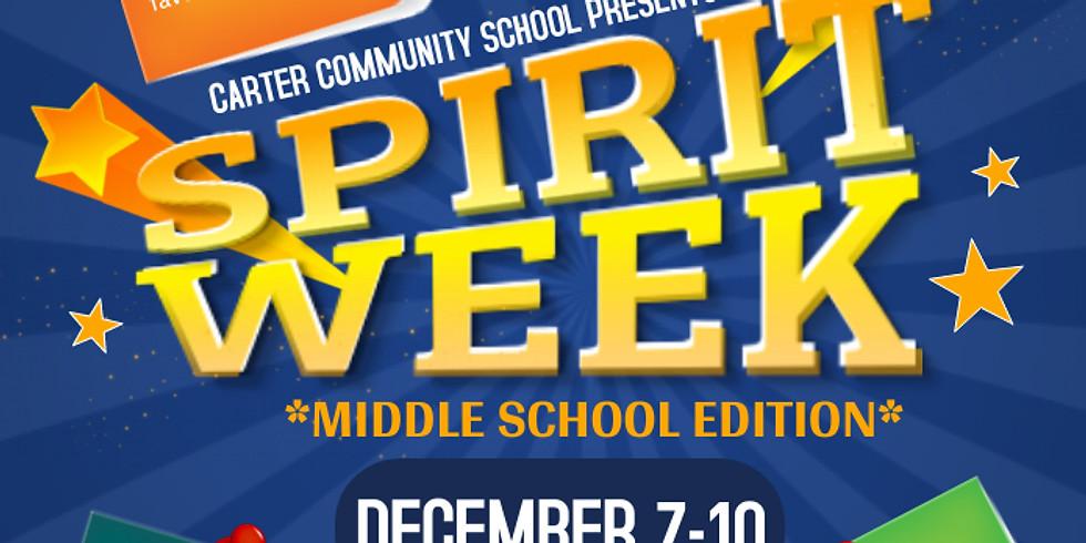 Middle School Virtual Spirit Week