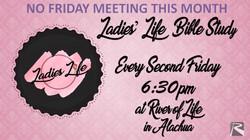 Ladies' Life Bible Study May