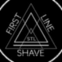 FLS black circle, WHITE, white font.png