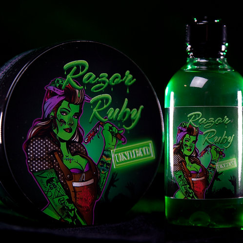 Undead Shave Soap and Aftershave