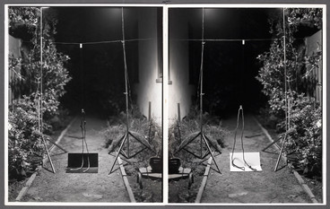 Black & White/White & Black Rope Trick, 1973