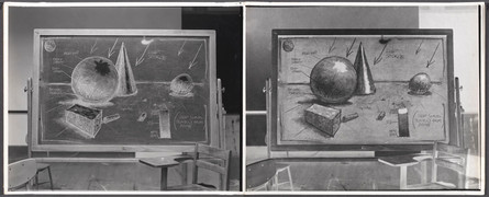 Academic Shading Exercise, 1975