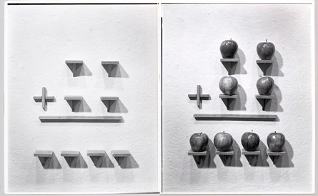 Two Shelves Plus Two Shelves Equals Four Shelves-Two Apples Plus Two Apples Equals Four Apples, 1974