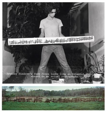 Farm Fence Metaphor, 1976