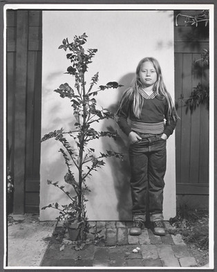8-Year-Old Girl, 6-Month-Old Weed, 1974