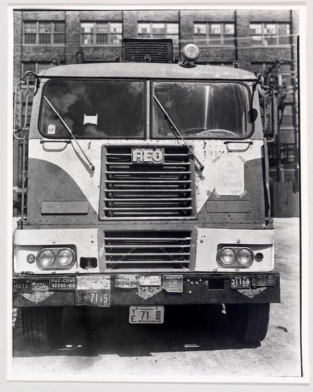 A Truck Is an Object, 1970