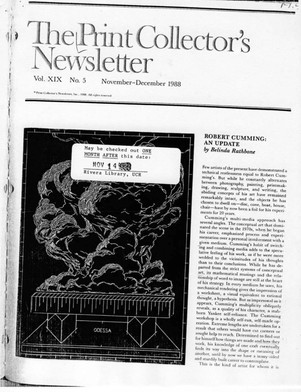 PRINT COLLECTOR'S, page 1