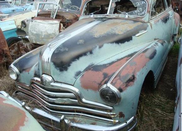 1947 Pontiac Chieftain Torpedo Coupe