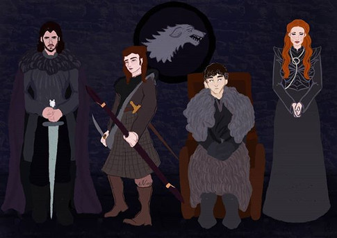 The Starks 🐺_Well the ones that are lef