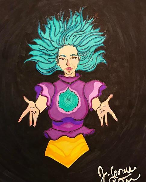 Super Lady Doodle