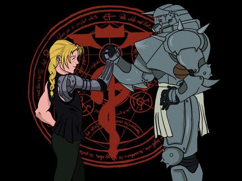 Fullmetal Alchemist Brotherhood Fanart