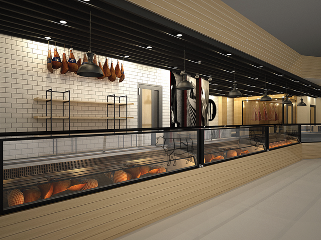PAVI - Meat section