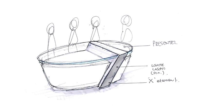 Xarabank - Table Design Concept
