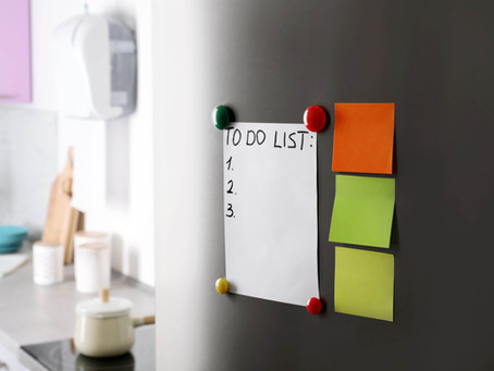 6 Steps to Becoming More Organised