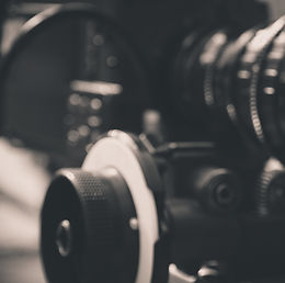 detail of Video camera , film crew produ