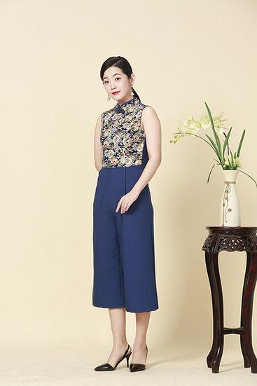 Rising Phoenix Kimono Cheongsam Jumpsuit