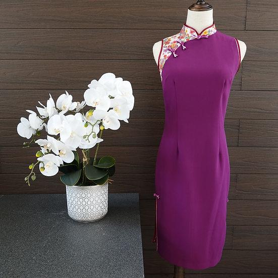 Fortuity Hana Magenta Cheongsam Dress