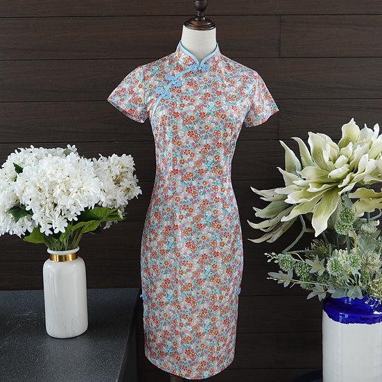 Blooming Sakura Momo Cheongsam Dress