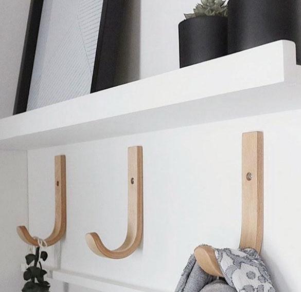 Crochets en bois