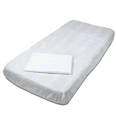 סדינים למיטה עם גומי -10 יחידות