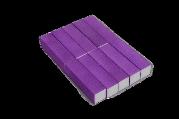 בלוק לשיוף ציפורניים -10 יחידות בחבילה -קיים ב-7 צבעים