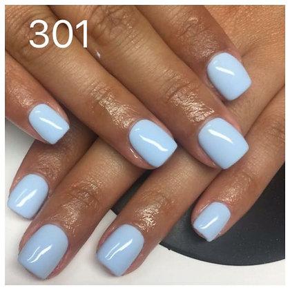 301 blue baby לק ג'ל