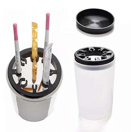 כוס פלסטיק למנקה מברשות
