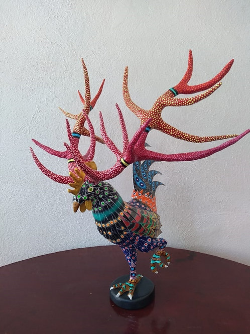 Gallo Venado Sculpture