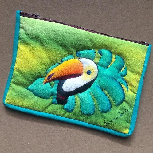 Toucan cosmetic / pencil bag