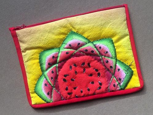 Watermelon cosmetic / pencil bag