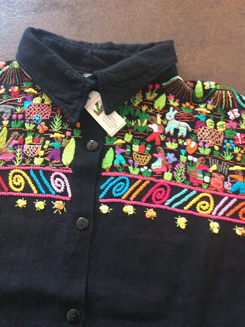 Hand Embroidered Shirt