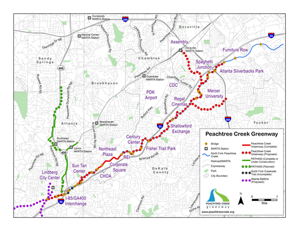 Current & Proposed Greenway