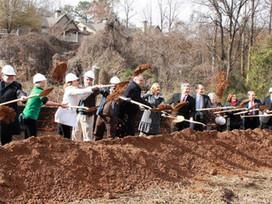 Groundbreaking kicks off Phase I of Peachtree Creek Greenway
