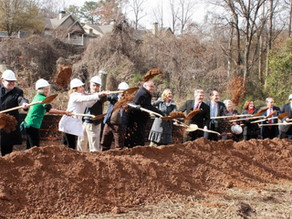 Groundbreaking kicks off Phase I of Peachtree Creek Greenway