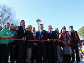 Brookhaven's 'Model Mile' of Peachtree Creek Greenway opens