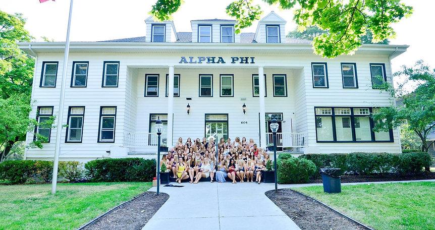 University of Idaho Alpha Phi Greek Life