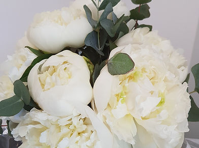 pivoines blanches mariage