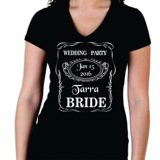 Wedding Party - Jack Daniels Style
