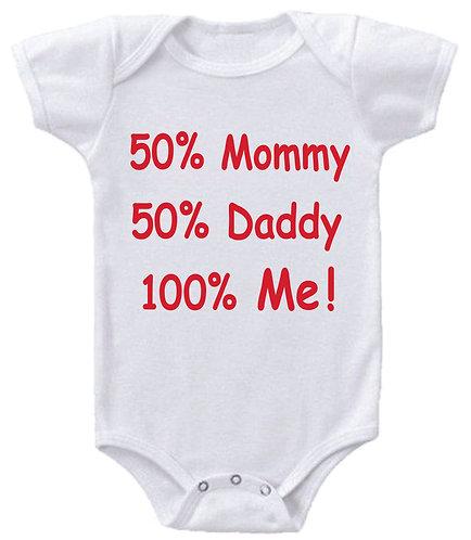 Baby Onesie - 100% Me
