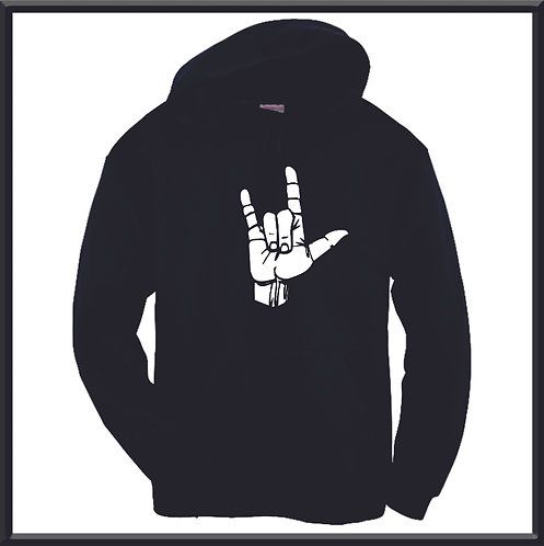 I Love You Sign - Hoodie