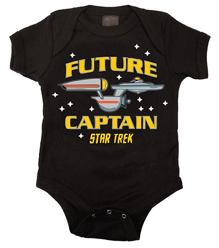 Future Captain - Star Trek Design