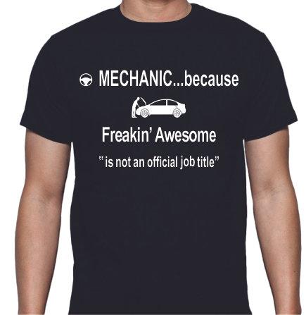 Mechanic Tee Shirt