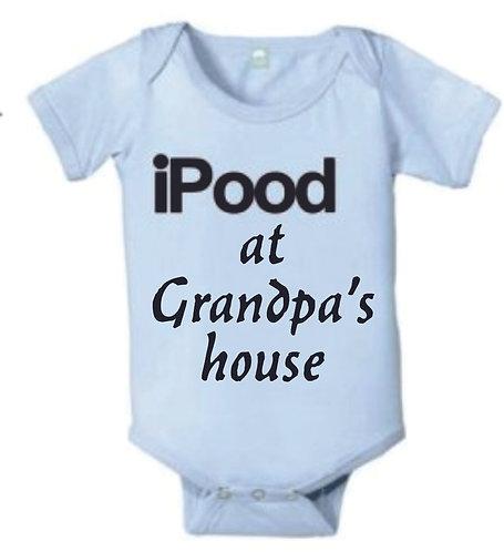 I Pood at Grandpa's House - Onesie
