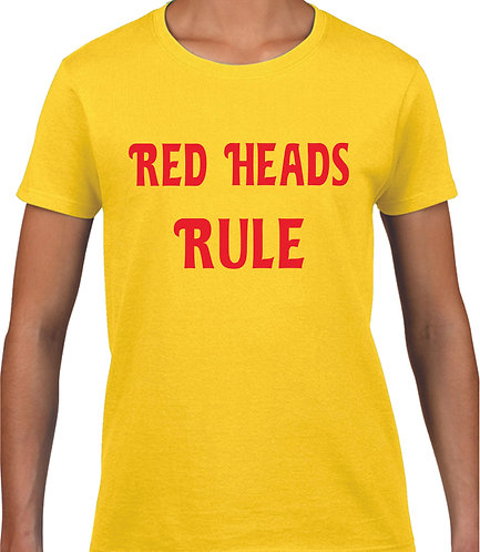 Red Heads Rule