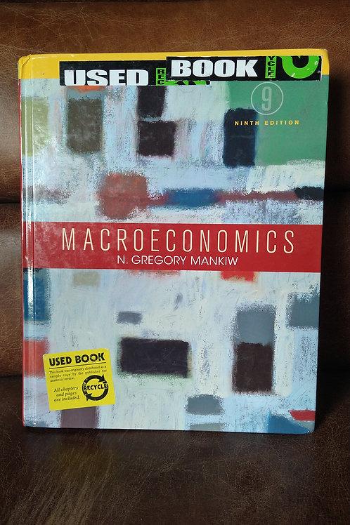 Macroeconomics 9th Edition Book