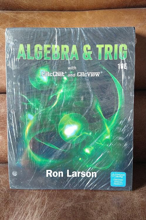 Algebra & Trig CalcChat Book